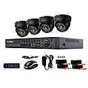 Liview 900TVL Indoor Day/Night Security Camera and 4CH HDMI 960H Network DVR System