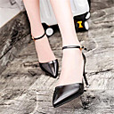 Womens Shoes Leatherette Stiletto Heel Heels Heels Wedding / Party  Evening Black / Pink / White / Silver / Gold