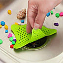 Image of la caffettiera liquami rete del filtro capelli sbocco filtro di scarico pavimento della cucina lavandino