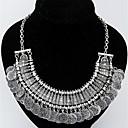 KAILA Womens Fashion Rhinestone Metal Pendant Necklace