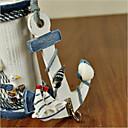 Image of ancoraggio conchiglia stella marina netta parete termometro interno domestico di arte della regalo colore casuale