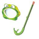 Snorkeling Pacchetti / Maschere subacquee / Diving Pacchetti / Snorkels Two-Window bambini / Unisex Neoprene Verde-YAJIANMEI