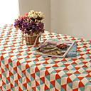 biancheria di cotone di alta qualità plaid tovaglia modo del hotsale tavolino quadrato asciugamano telo