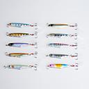 10Pcs Hengjia Lead Fishing lures Metal Hard Baits 57MM 15.7G Crankbaits
