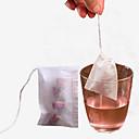 di alta qualità 100pcs sacchetti / tè stringa di guarire filtro sigillo di carta bustina di tè per bustine di tè sfusi erbe rosa fiori