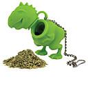 1pcs forma di dinosauro silicone infuser del tè sciolto foglia filtro diffusore filtro di silicone a base di erbe
