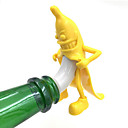 1pcs banane tappo di bottiglia di vino rosso spina nozze sughero bottiglia strumenti regali interessanti bar