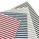 Image of Quadrato A righe Tovagliette all'americana / Tovaglioli , Miscela lino / cotone Materiale Tabella Dceoration 4