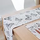 Image of Rettangolare Fantasia floreale Con stampa Copritavola , Lino Materiale Hotel Dining Table Tabella Dceoration