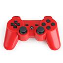 Trådløs DualShock 3 Controller for PlayStation 360 PS3 (rød)