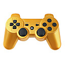 Trådløs DualShock 3 Controller til PlayStation 3 PS3 (Guld)