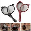 strumento cucchiaio maglia del filtro caffè tè infusore birra bastone 2pcs viaggio