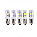 Image of 5W 2700-3000/6000-6500 lm E14 LED a pannocchia T 51 leds SMD 2835 Bianco caldo Luce fredda AC220
