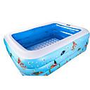 Ball Pool Kiddie Pool Paddling Pool Inflatable Pool Intex Pool Inflatable Swimming Pool Kids Pool Water Pool for Kids Fun Novelty Extra Large Silica Gel Plastic Summer Swimming 1 pcs Kid's Adults