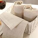 Image of Quadrato Solido Tovaglioli , Lino MaterialeHotel Dining Table Wedding Party Decoration Cena banchetto di nozze Decor Natale Favor Tabella