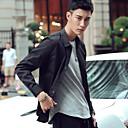 modelli della molla uominiamp;# 39; s camicia oxford maniche lunghe sottile pollici caldo inverno più velluto plaid camicia bianca ferro