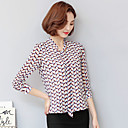 firmare la nuova molla camicia chiffona camicia a maniche lunghe femminile fan coreano ol camicia che basa la camicia