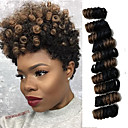 Image of Trecce Twist Uncinetto Bouncy Curl Kanekalon Nero / Strawberry Blonde Nero / Medium Auburn Nero / Borgogna Nero / Grigio NeroExtensions