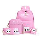 Image of Per bambini Sacchetti Corda Zaino per la scuola per Casual Sport Per tutte le stagioni Verde Nero Rosa Beige Grigio