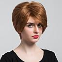 Image of Parrucche dei capelli umani naturali femminili mature diritto maturo diritto