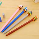 Image of penna Gel Penna Gel Penne Penna Nero Colori inchiostro For Materiale scolastico Attrezzature da ufficio Confezione 12