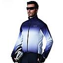 Image of SANTIC Per uomo Giacca da ciclismo Bicicletta Top Antivento Gli sport Blu Ciclismo da montagna Cicismo su strada Abbigliamento Avanzato Comodo Abbigliamento ciclismo