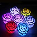 Image of La luce di notte che cambia colore del fiore di rosa di 1pcs ha condotto i suppellettili del partito di cerimonia nuziale della decorazione domestica