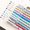 Image of penna Gel Penna Gel Penne Penna, Plastica Rosso / Nero / Blu Colori inchiostro For Materiale scolastico Attrezzature da ufficio Confezione