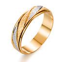 Image of Per uomo Band Ring - Placcato in oro Di tendenza 7 / 8 / 9 Oro Per Regalo San Valentino