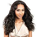 Image of Capello integro Lace frontale Wig Brasiliano Ondulato naturale Parrucca 130% Con i capelli del bambino / Da donna / Attaccatura dei capelli naturale Naturale Per donna Corto Parrucche di capelli
