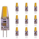 Image of 10 pezzi 2 W 180 lm G4 Luci LED Bi-pin T 1 Perline LED COB Nuovo design Bianco caldo 220-240 V
