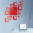 Image of diy orologio da parete in plastica acrilica irregolare da interno