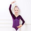 Image of Abbigliamento da ballo per bambini / Danza classica Body Da ragazza Addestramento / Prestazioni Cotone Più materiali Manica lunga Naturale Calzamaglia / Pigiama intero