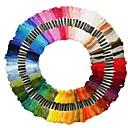 Image of 100 fili colorati a punto croce lo stile unico dmc punto croce in cotone ricamo a punto croce filo per cucire ricamo