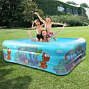 Ball Pool Kiddie Pool Paddling Pool Inflatable Pool Intex Pool Inflatable Swimming Pool Kids Pool Water Pool for Kids Fun Novelty PVC Summer Swimming 1 pcs Adults Kids