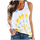 Shirts for women fashion round neck plus size sunflower print tee shirt casual short sleeve t-shirt top blouses