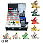 8 Guns Tattoo Kit with LCD Power and 40 Ink  Free Temporary Tattoo 2 Pcs 3204