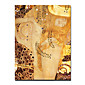 "Hand-painted Famous People Oil Painting with Stretched Frame 24"" x 36"" by Gustav Klimt 3204"