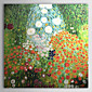 Hand-painted Oil Painting by Gustav Klimt with Stretched Frame 3204