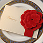 Beautiful Wedding Invitation With Embossed Flower-Set of 50/20 3204