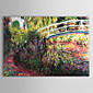 Hand-painted Oil Painting by Claude Monet with Stretched Frame 3204