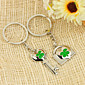 Lovely Clover Design Lover Keyring (Set of 4 Pairs) 3204