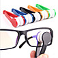 Mini Microfiber Glasses Cleaner Eyeglasses Cleaner Cleaning Clip Soft Brush Cleaning Tool Portable 3204