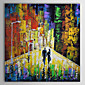 Hand Painted Oil Painting People Love Lovers back with Stretched Frame 1307-PE0261 3204
