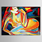 Hand Painted Oil Painting People Nude with Stretched Frame 1306-LS0288 3204