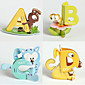 26PCS 26 Letters 3D Animals Puzzles Early Education 3204