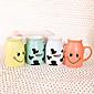 Farben Lächeln Tasse Milch Ceramic Cup (zufällige Farbe) 6160