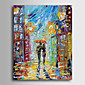 Hand-Painted PeopleModern Traditional One Panel Canvas Oil Painting For Home Decoration 3204