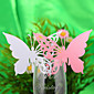 Butterfly Place Card For Wine Glass Card - Set of 20 Pieces (More Colors) 3204