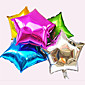 Star Aluminum Foil Balloons for Wedding/Birthday/Party - Set of 6 (More Colors) 3204